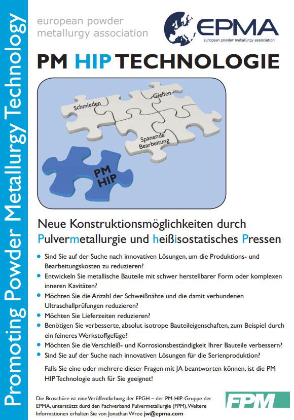 Hot Isostatic Pressing Technology (Leaflet) (German)