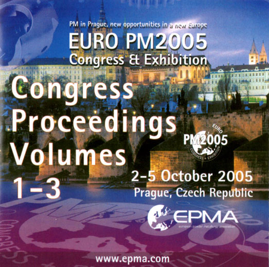 Euro PM2005 Congress Proceedings