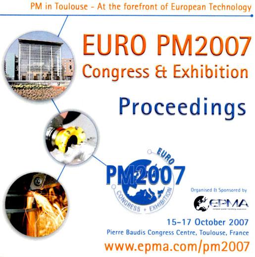 Euro PM2007 Congress Proceedings