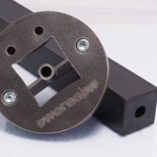 Rubber extrusion tool