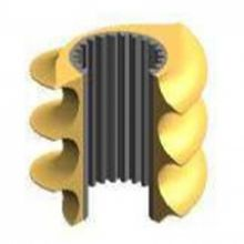 Bimetal Screw Segment for Plastics Extrusion