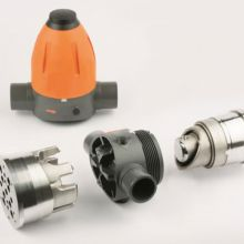 Core and cavity molds for PVC pressure reduction valve
