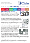 EPMA 30th Anniversary Newsletter