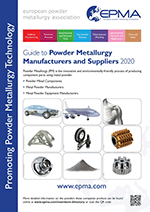 EPMA Member Guide to Powder Metallurgy Manufacturers and Suppliers 2020