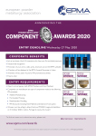 EPMA PM Component Awards flyer