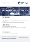 EPMA PM Thesis Competition flyer