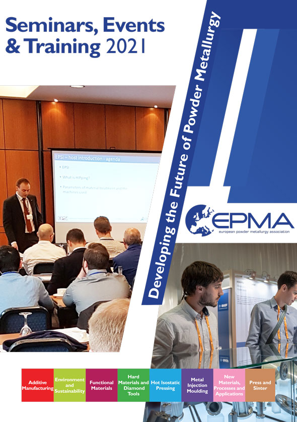 EPMA Seminars, Events and Training Brochure 2021