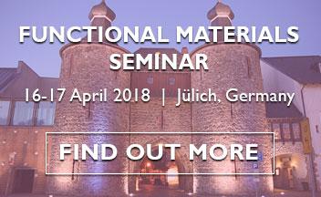 Functional Materials Seminar 2018