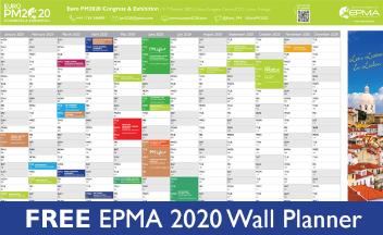EPMA 2020 Wall Planner