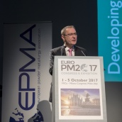 EPMA President, Mr Philippe Gundermann