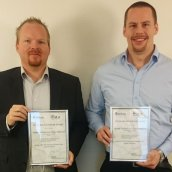 Peter Brewin Poster Award Winners for 2014: Tomas Berglund and Martin Östlund