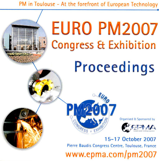 Euro PM2007 Congress Proceedings