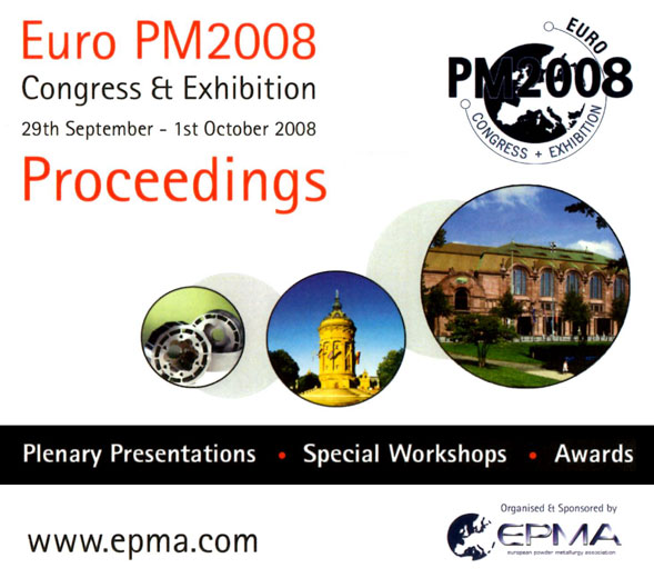 Euro PM2008 Congress Proceedings