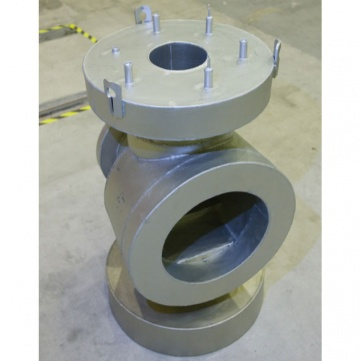 Valve body for offshore subsea stations