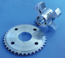 Aluminium VCT Sprocket and Rotor