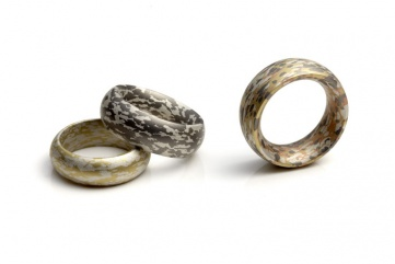 'Tiger-Metal' Rings